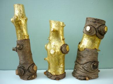 golden logs