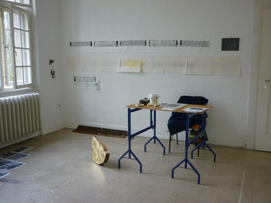 lesley's studio