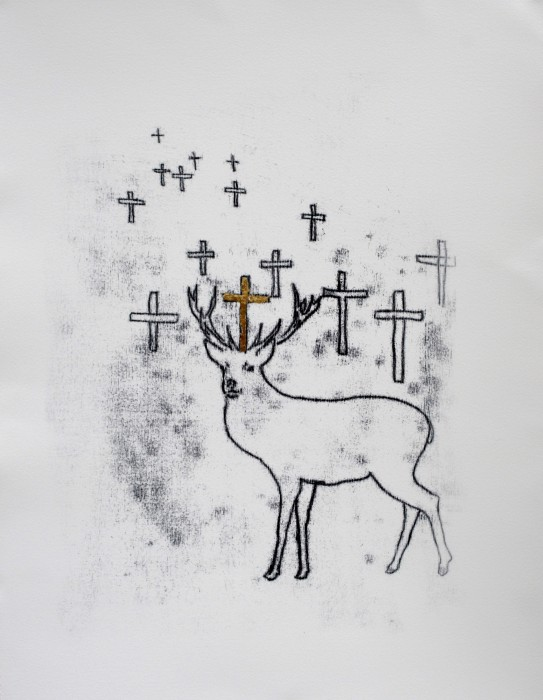 St Eustace's Stag