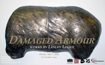 Damaged Armour exhibition